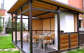 Metal and wood patio furniture Plastic World Market 22 Beautiful Metal Gazebo And Wooden Gazebo Designs