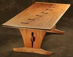 unique wooden furniture. Custom Natural Wood Dining Table Green, Eco Friendly, Unique, Organic Unique Wooden Furniture