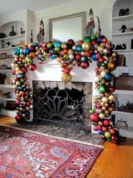 Small Picture Organize large Christmas decoration with traditional decor items