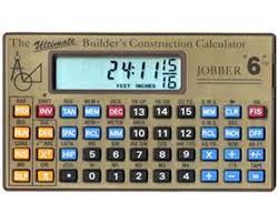 jobber calculator tiger supplies jobber instruments jobber 6 construction calculator jobber6