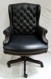 tufted leather executive office chair. Tufted Leather Executive Desk Chair Office F