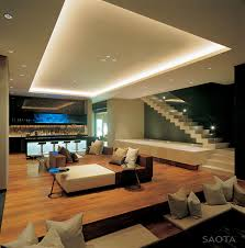 modern stairs living space bar lighting st leon 10 in cape town south africa by saota and antoni associates
