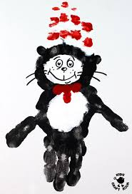 cat in the hat handprint crafts are you a cat in the hat fan