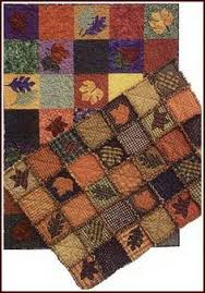 What I Like About Fall | Flannels for rag fall quilt | #fallquilt ... & Fall Leaves Rag Quilt Pattern Adamdwight.com