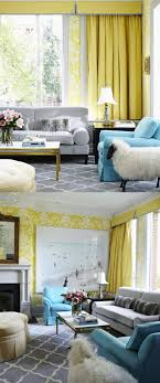 Yellow Living Room Furniture Tying In The Dining Room Grey Yellow Living Room Slate Blues