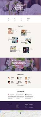 Wedding Planner Web Template