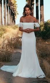 off the shoulder wedding dresses archives bohemian wedding