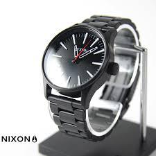 raiders rakuten global market nixon watch sentry 38 ss black nixon watch sentry 38 ss black white nixon the sentry 38 ss black white