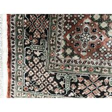 small vintage turkish rug in fine silk vintage designer furniture previous