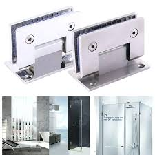 shower door hinges details about heavy duty degree glass door hinge showcase pivot glass shower doors shower door hinges glass