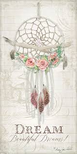 Beautiful Dream Catcher Images Boho Western Dream Catcher W Wood Macrame Feathers And Roses Dream 43