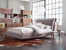 interior bedroom design furniture. Skyler Queen Upholstered Bed Interior Bedroom Design Furniture