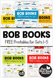 They come in two different sizes of flashcards. Free Bob Books Printables