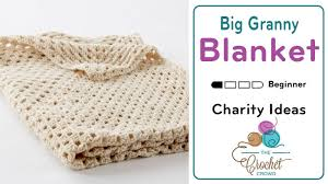 Granny Square Blanket Pattern Adorable Crochet Big Granny Blanket Tutorial The Crochet Crowd