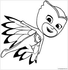 Owlette Of Pj Masks Coloring Page Pj Masks Coloring Pages Pj