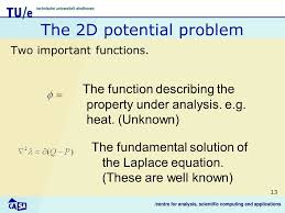 13 the 2d potential problem two important functions