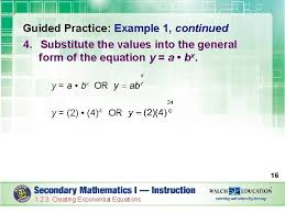 introduction exponential equations are