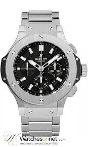 hublot big bang 44mm 301 sx 1170 sx men s stainless steel hublot big bang 44mm chronograph automatic men s watch stainless steel black dial 301
