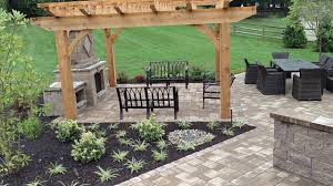 outdoor fireplace paver patio: paver patio outdoor living outdoor fireplace