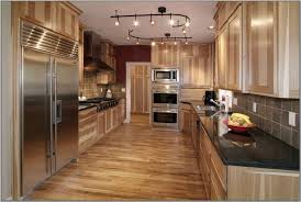 track lighting in kitchen. Track Lighting Fixtures For Kitchen. Rustic Kitchen With Black Countertop K In