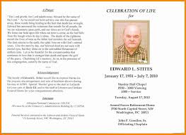 Funeral Remembrance Cards 003 Celebration Of Life Template Ideas In Memoriam Cards