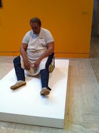 """ThreeDeeWinter2011: Duane Hanson's """"Dishwasher"""""""