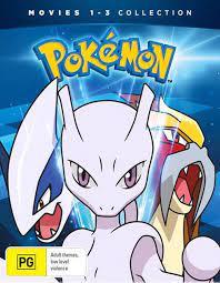 Pokemon : Movie 1-3 : Gold Edition, DVD