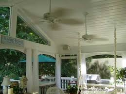 outdoor ceiling fans white. Ceiling Fans On A Porch Outdoor White