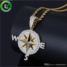 whole iced out chains mens necklace hip hop jewelry p pendant pandora style charms luxury diamond bling shiny rock punk rapper chain wedding gl