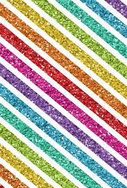 Striped glitter rainbow wallpaper ...