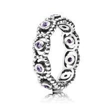 pandora purple romance ring 190881acz pandora necklace pandora rings free