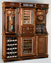 unique bar furniture. Home Bar Furniture Unique Cigar And Wine Cabinet With A Humidor