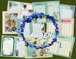 Garden Design Journal Unique Digital Garden Journal Album Garden Memories Digital Etsy