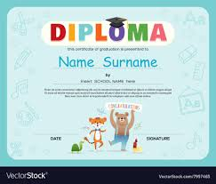 free preschool certificates preschool kids diploma certificate