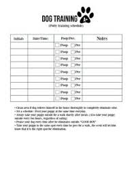 Dog Walking Chart List Of Dog Walking Schedule Printable Images And Dog