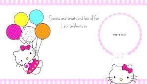 Printable Hello Kitty Invitations Personalized Pretty Pink Hello Kitty Polka Dot Girl Bridal Shower