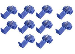 <b>10pcs Quick Splice</b> Connectors Lock <b>Wire</b> Terminals Crimp: Amazon ...