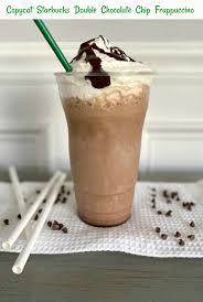 Chocolate covered espresso bean caffeine content ranges from 10 mg to 14 mg of caffeine per bean. Copycat Starbucks Double Chocolate Chip Frappuccino Pams Daily Dish