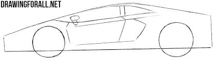 sport cars drawings. Exellent Drawings Easy To Draw Sports Cars Intended Sport Cars Drawings A