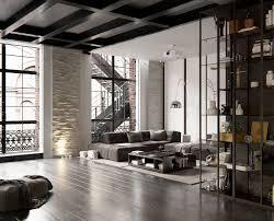 Studio Loft Apartment Nowoczesna Stodola Loft Studios Andrew Sadokha 06 Salla