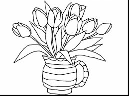 Small Picture outstanding printable coloring pages girls flowers with flower