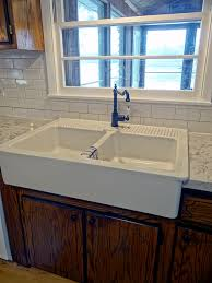 And With That My Friends You Finally Have An Installed Domsjo Sink It  Is Beautiful Ikea Apron Front Sink31