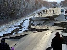 Alaska still shaking with aftershocks ...