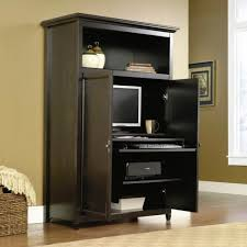 contemporary computer armoire desk computer armoire. furniture largesize modern computer armoire desk design ideas and glass window with rattan basket contemporary o