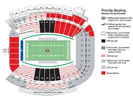 sanford stadium seating