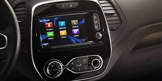2018 renault captur. unique renault all the infotainment systems are easy to use for 2018 renault captur t