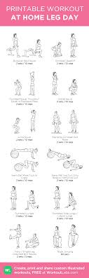 At Home Leg Day My Custom Workout Created At Workoutlabs