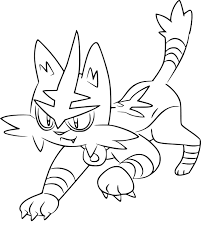 Coloring Pages Pokemon Sun And Moon Drawing Summer