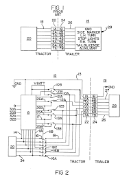 patent ep0546370a1 truck tractor and trailer electrical Bendix Wiring Diagrams Bendix Wiring Diagrams #12 bendix abs wiring diagrams