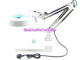 swing arm magnifying lamp white led desk table adjule arm magnifier lamp light magnifying glass lens swing arm magnifying lamp